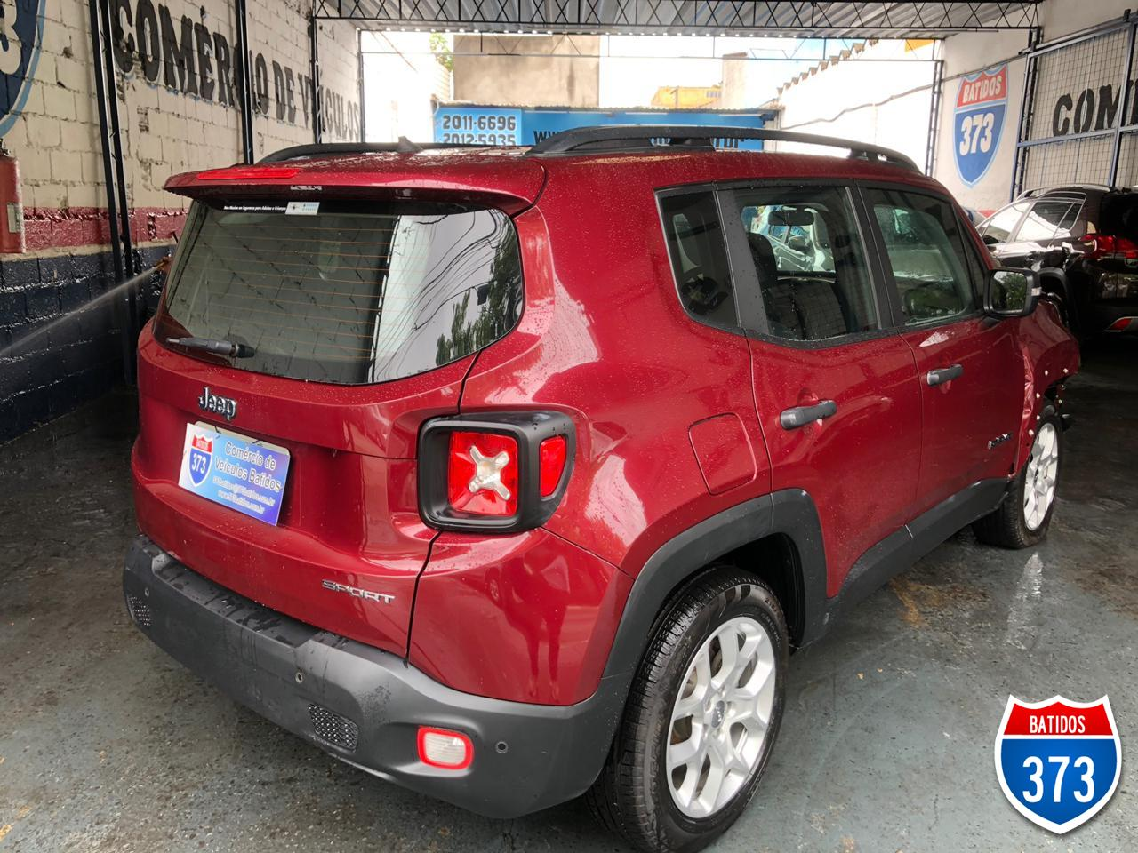 JEEP Renegade Sport 1.8 At  2018 Batido, Foto 16321